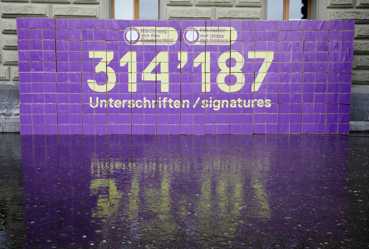 314'187 x Hände weg von den Frauenrenten
